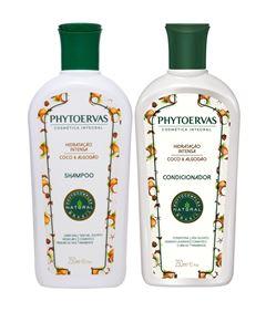 Kit Shampoo + Condicionador Phytoervas 250 ml Hidratação Intensa