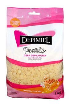 Cera Depilatória Depimiel 1 Kg Natural com Mel