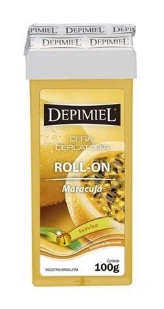 Cera Refil Roll On Depimiel 100 gr Maracuja