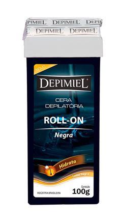 Cera Refil Roll On Depimiel 100 gr Negra