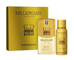 Kit Euro Essence Masculino Millionaire