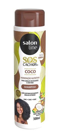 Shampoo Salon Line S.O.S Cachos 300 ml Coco