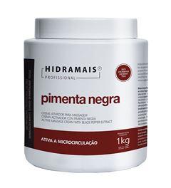 Creme Massagem Hidramais 1 Kg Pimenta Negra
