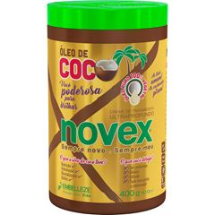 Creme para Tratamento Novex Oleo de Coco 400g