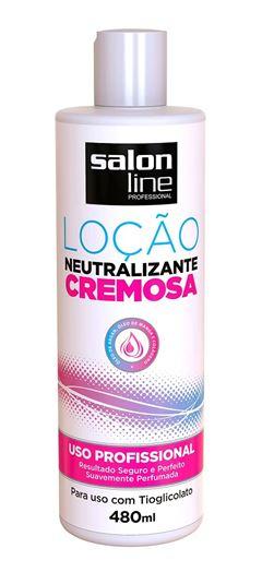 Locão Neutralizante Salon Line 480 ml Cremosa