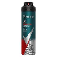 Desodorante Aerosol Rexona Men 90gr Antibacterial + Invisible