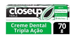 Creme Dental Closeup Triple 70 gr Menta