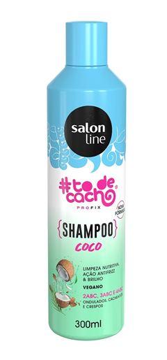 Shampoo Salon Line 300ml To de Cacho Coco pra Conquistar