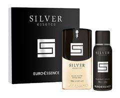 Kit Euro Essence Masculino Silver