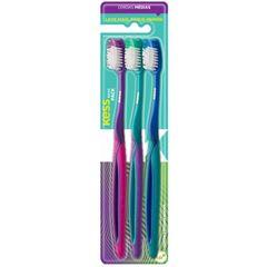 Escova Dental Kess Média Leve 2 Pague 1 Unidade