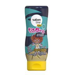 Condicionador Salon Line S.O.S Cachos Kids 300 ml Desembaraco e Definicão