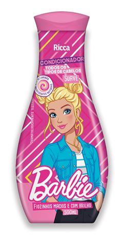 Condicionador Infantil Ricca Barbie 500 ml Suave