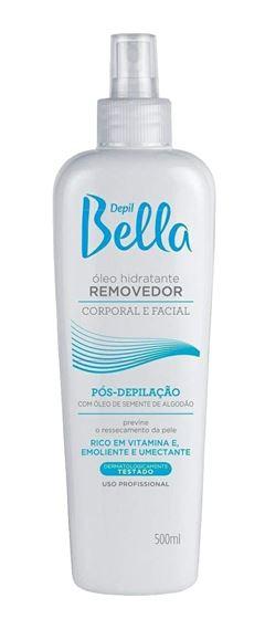 Oleo Removedor Depil Bella Corporal e Facial 500 ml Pos-Depilacão