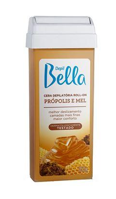 Cera Refil Roll On Depil Bella 100 gr Propolis e Mel