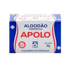 ALG APOLO CAIXINHA 50 GR      BRANCO