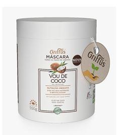 Mascara Griffus Vou de Coco 550 gr