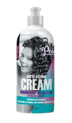 Modelador de Cachos Soul Power 500 ml Curly Styling Cream