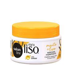 Mascara de Hidratacão Salon Line Meu Liso 300 gr #Muito + Liso Amido de Milho Capilar