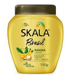 Creme de Tratamento Skala Brasil 1000 gr Banana