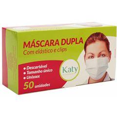 Mascara Descartável Katy com Elástico | Com 50 Unidades