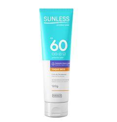 Protetor Solar Sunless Toque Seco Fps 60 120g