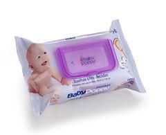 Toalhas Umedecidas Baby Poppy 96 Unidades Premium