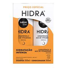Kit Shampoo + Condicionador Salon Line Hidra 300 ml Cada Original