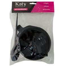 Kit Coloração Katy 1 Tigela+1 Pincel+ 5 Piranhas