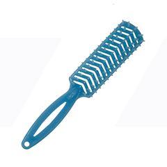 Escova de Cabelo Katy Flex Reta  Azul Com Glitter