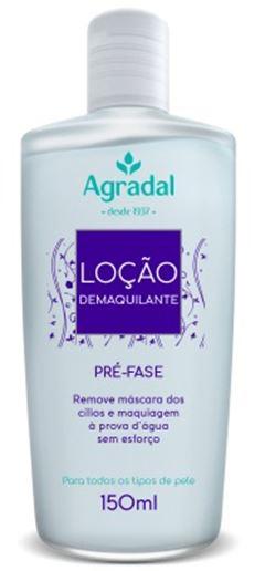 Loc?o Demaquilante Agradal 150 ml
