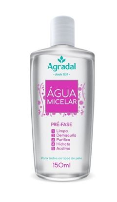 Agua Micelar Agradal 150 ml