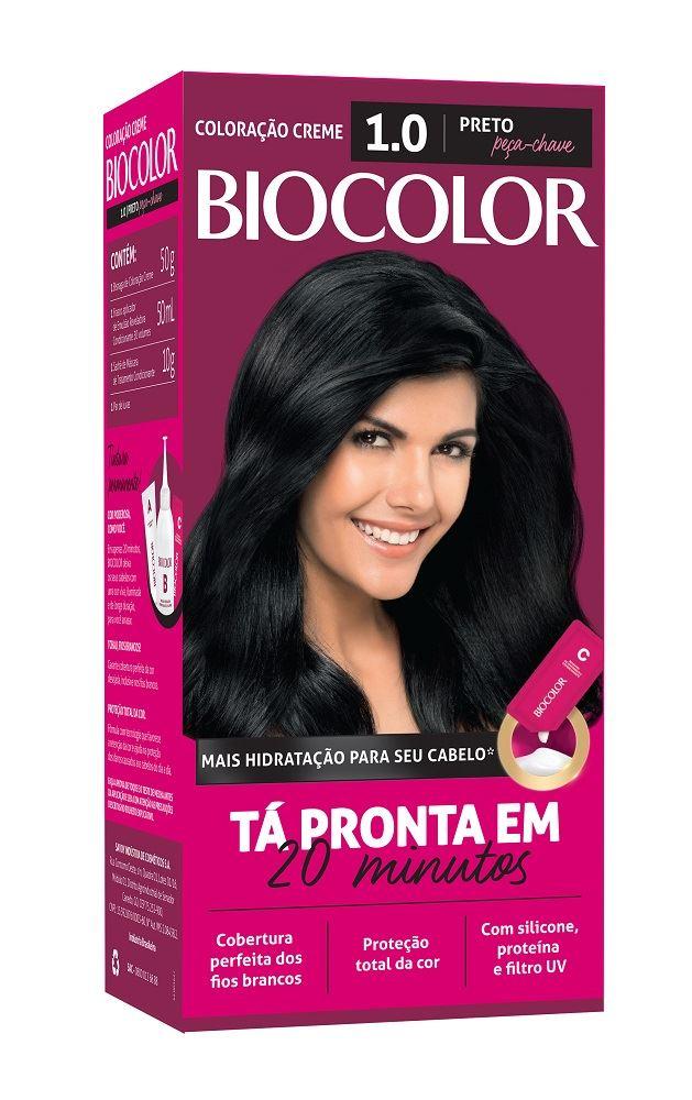 Coloração Biocolor Preto 1.0