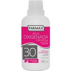 Agua Oxigenada Farmax Volume 30 90ml