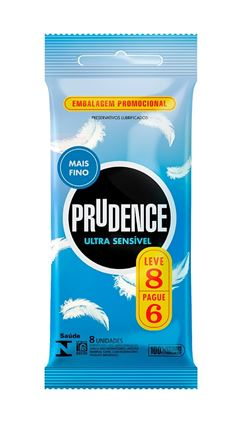Preservativo Prudence Ultra Sensível Leve 8 Pague 6