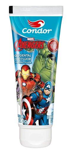 Gel Dental Condor Avengers 100 gr Bubble Gum