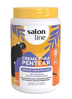 Creme para Pentear Salon Line 1 kg Brilho Umidificado
