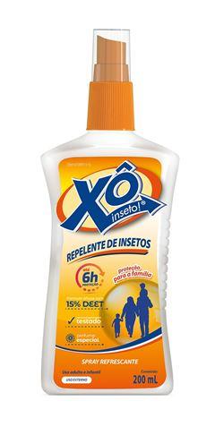 Repelente Xo Inseto Spray 200 ml