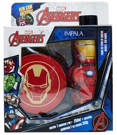 Kit Shampoo 2 em 1 + Gel Fixador Impala Avengers Homem de Ferro