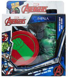 Kit Shampoo 2 em 1 + Gel Fixador Impala Avengers Hulk