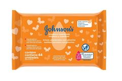 Lenços Umedecidos Johnson s Baby Limpeza e Suavidade 44 unidades