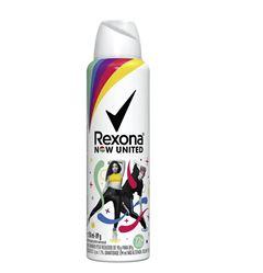 Desodorante Aerosol Rexona Unissex 90 gr Now United