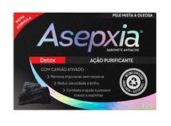 Sabonete Asepxia 80 gr Detox