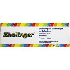 Envelope para Esterilizac?o Zhalinger Autoclave   Com 200 Unidades
