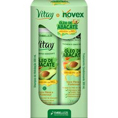 Kit Novex + Vitay Óleo de Abacate Shampoo e Condicionador 300ml