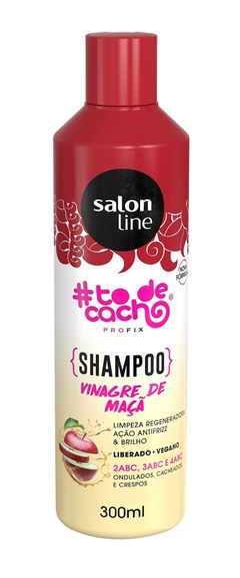 Shampoo Salon Line #todecacho 300 ml Vinagre de Macã