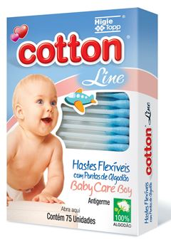 HASTES FLEX COTTON LINE C/75  AZUL