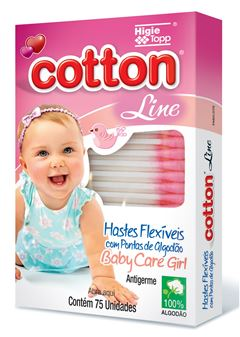 HASTES FLEX COTTON LINE C/75  ROSA