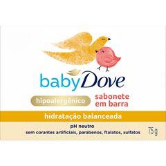 Sabonete em Barra Infantil Dove Baby 75g Hidratação Balanceada