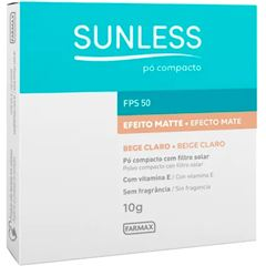Po Compacto Sunless Claro Fps 50 10g