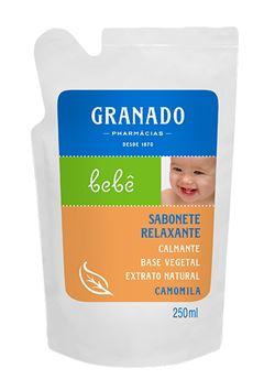 Sabonete Liquido Granado Bebe Refil 250 ml Camomila